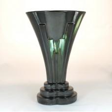 Faience vase by Thulin, Belgium, Art Deco